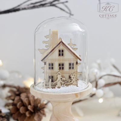 Light Up Christmas Decorative Domes