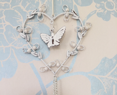 Hanging Metal Butterfly