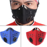 Breathable Face Mask Anti-Pollution Activated Carbon Filter