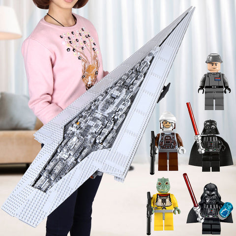 Star Super Imperial Model Destroyer Lego 05028 05027 05033 05035