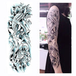 Full Sleeve & Full Leg Temporary Sticker Tattoos Long Lasting