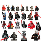 Legoing Star Wars Building Blocks starwars leia Sith Lord Darth Vader Maul Revan Dooku Sidious bricks toys kits legoing figures
