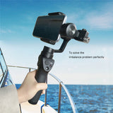 Professional Smart Phone Camera Stabilizer With Counter Weights