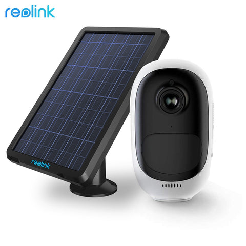 WiFi Surveillance Camera Solar Powered Rechargeable Battery Indoor Outdoor
