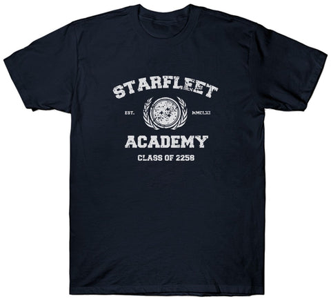 Starfleet Academy Logo T Shirt Star Trek Class Of 2258 Collection