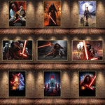Star Wars Assorted Movie Home Decoration Wall Art Canvas Paintings