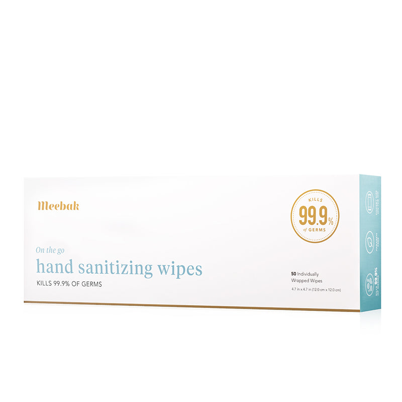 Hand Sanitizing Wipes (50 Count)
