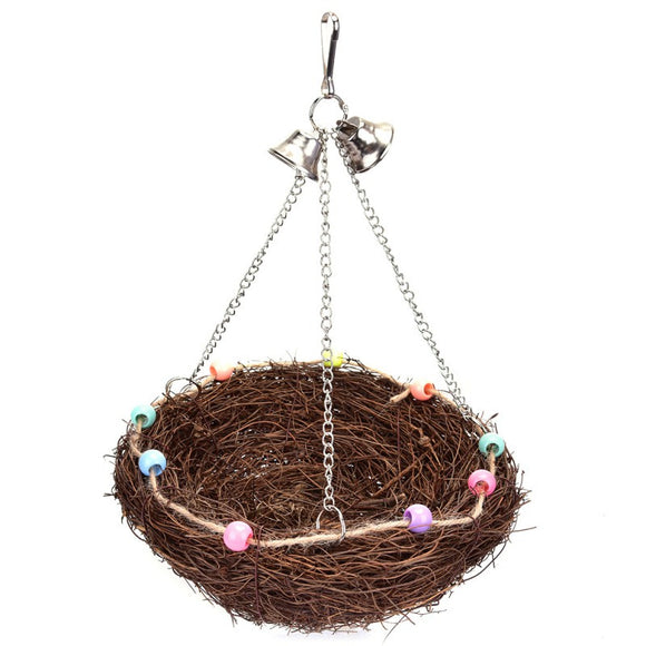 Rattan Bird's Nest Cage Accessories