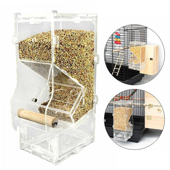 No Mess Bird Feeder