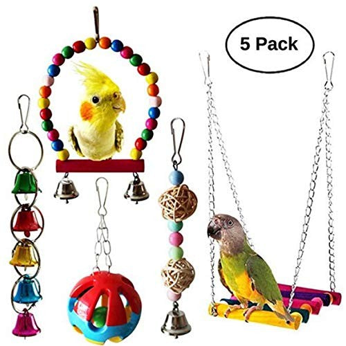 Bird Toys Hanging  Swing