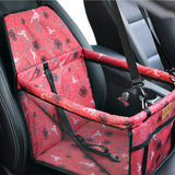 Portable Foldable Pets Dogs Cats Car Booster Seat