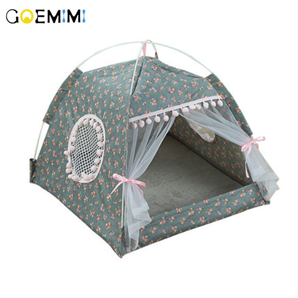 2019 Portable Foldable Pet Tent House Breathable