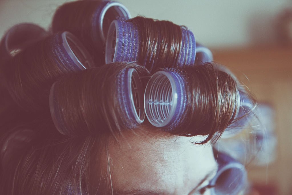 hair care routine curlers