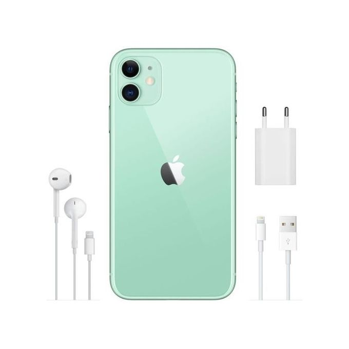 "Apple iPhone 11, 6.1"", 4Go, 64Go - Vert - Garantie 1 an - e-Morocco Mall"