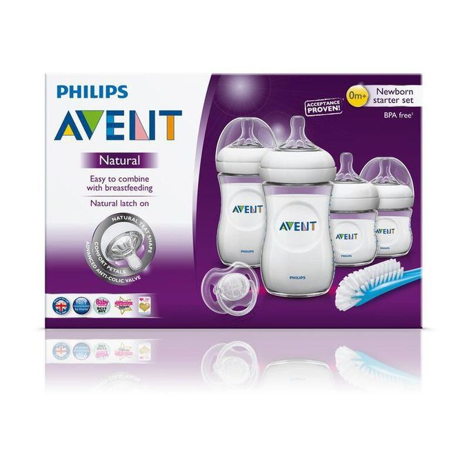 Avent Philips Kit Biberon Nouveau-né Natural - e-Morocco Mall