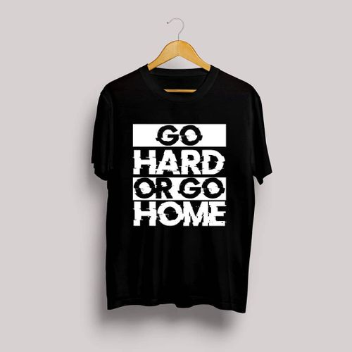 Go Hard T-shirt 2019