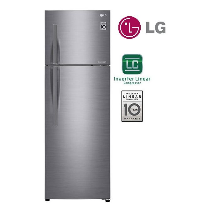 LG RÉFRIGÉRATEUR LG 432L NO FROST linéaire Inverter GR-C432RLCN DoorCooling+™ Multi Air Flow