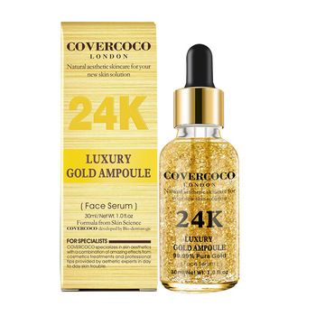 Luxury Gold Ampoule 24K - سيروم الذهب للبشرة - e-Morocco Mall