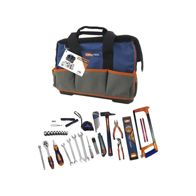 Leroy Merlin Sac Toile - Malette Boite à Outils - 60 Pièces