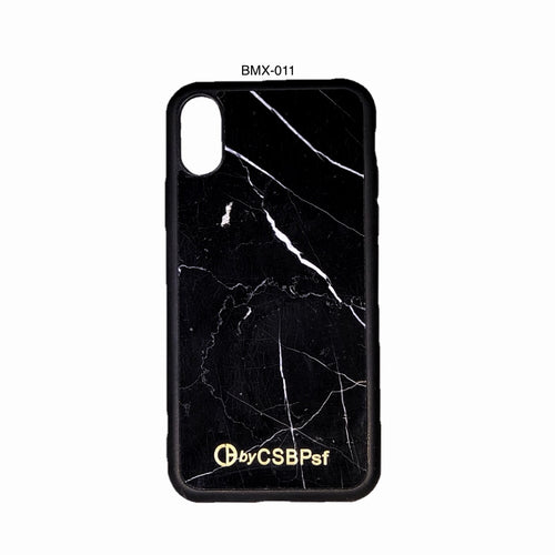 Nero Marquina Marble iPhone X Case