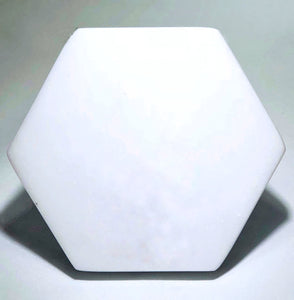 Thassos White Marble hexagon Coaster