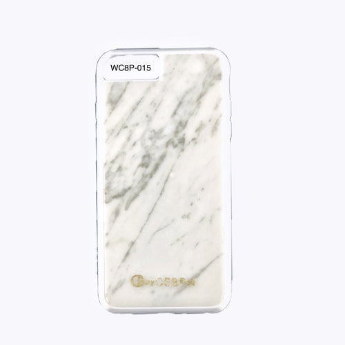 Bianco Carrara Marble iPhone 8 Plus Case