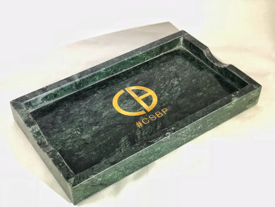 Emerald Green Marble Tray