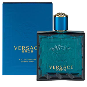 Versace Eros Men 3.4oz Eau De Toilette Spray