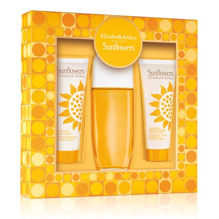 Set Sunflowers 3 pc Edt 3.3 oz Spray