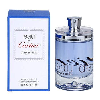 Eau de Cartier Vetiver Bleu Edt 3.4oz Spray