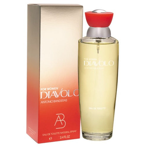 Diavolo For Women Edt 3.4oz Spray
