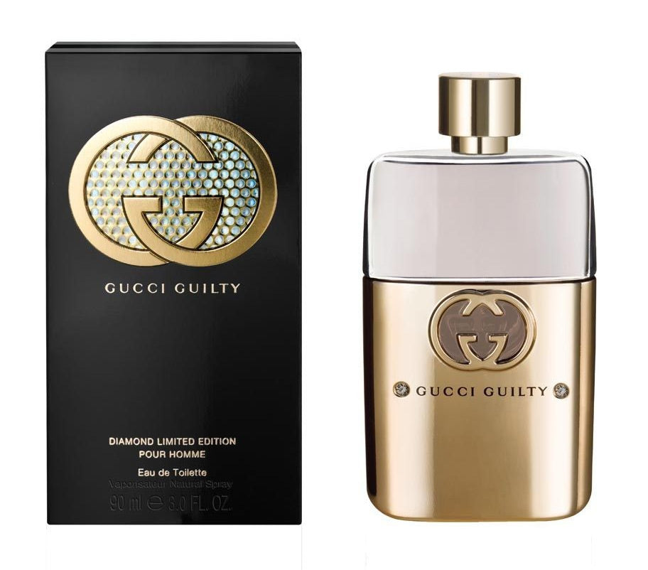 Gucci Guilty Diamond Limited Edition Men Edt 3oz Spray