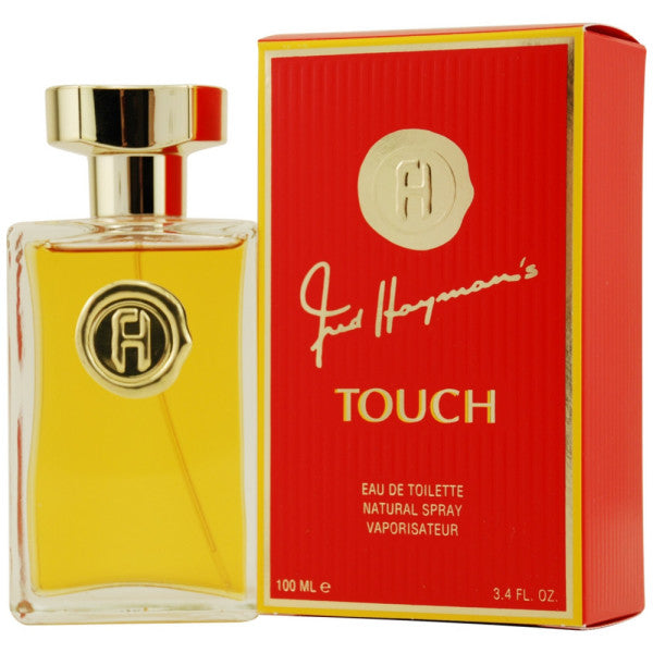 Touch For Woman Edt 3.4oz Spray