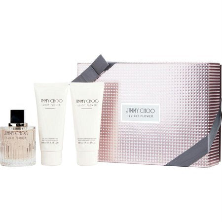 Set Jimmy Choo Illicit Flower 3pc Edt 3.3oz Spray