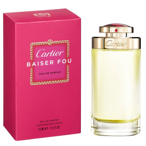Cartier Baiser Fou Edp 2.5oz Spray