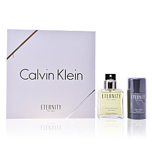 Set Eternity For Men 2pc Edt 3.4oz Spray