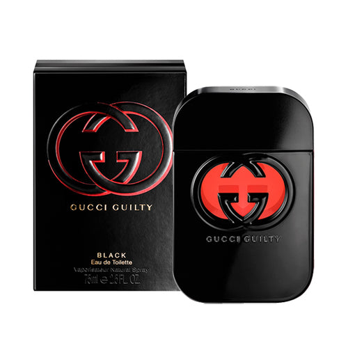 Gucci Guilty Black For Women Edt 2.5oz Spray
