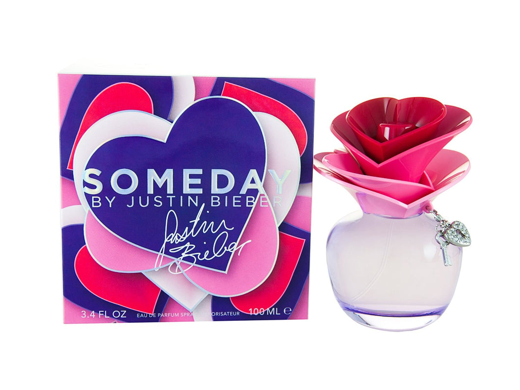 Justin Bieber Someday For Woman Edp 3.4oz Spray