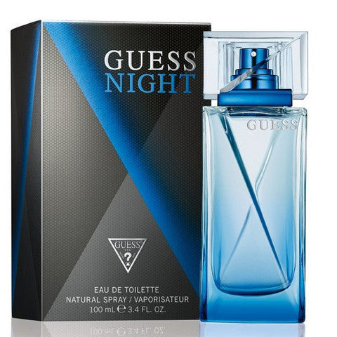 Guess Night For Men Edt 3.4oz Spray