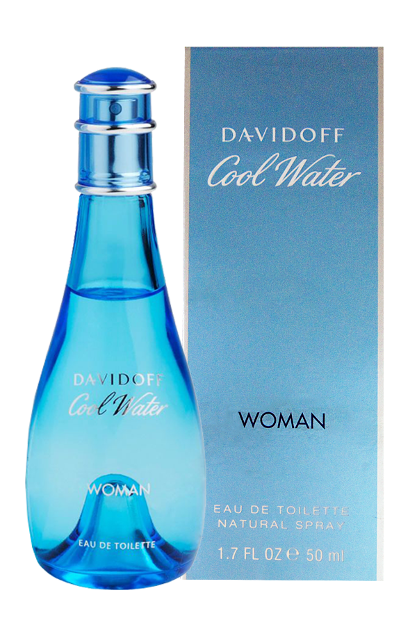 Davidoff Cool Water Women Edt 1.7oz Spray