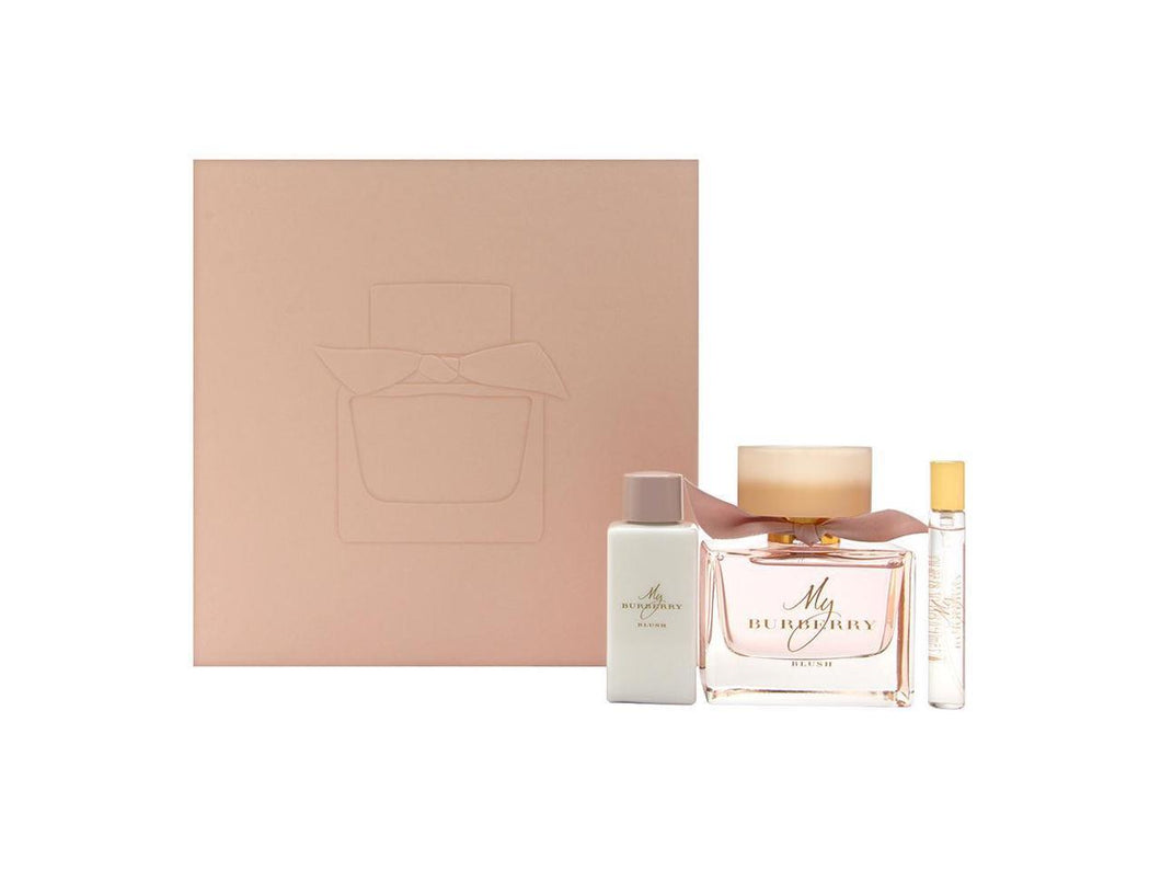 Set My Burberry Blush 3 pc Edp 3.0 oz Spray