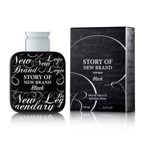New Brand Story Of NB Black Edt 3.3oz Spray