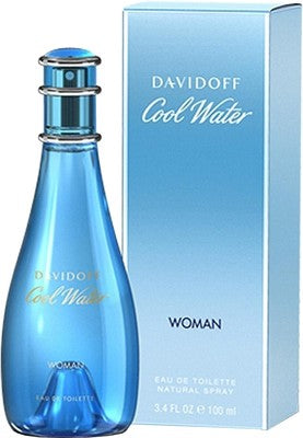 Davidoff Cool Water For Women Edt 3.4oz Spray