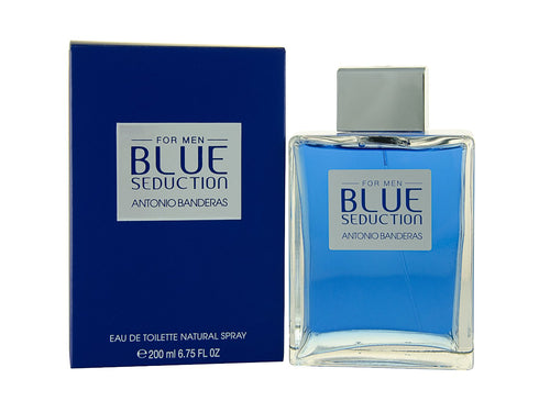 Blue Seduction For Men Edt 6.8oz Spray