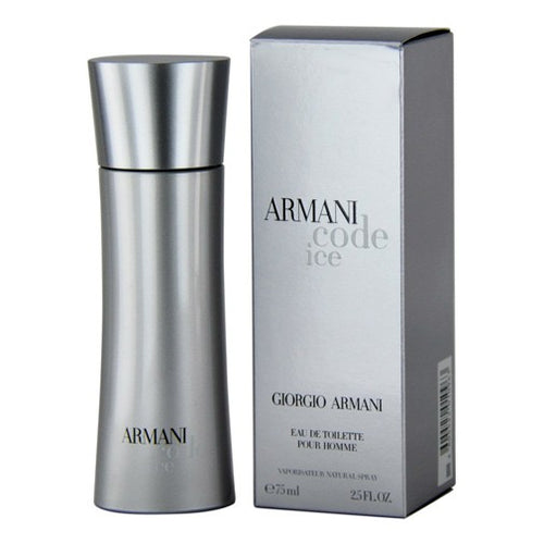 Armani Code Ice For Men Edt 2.5oz Spray