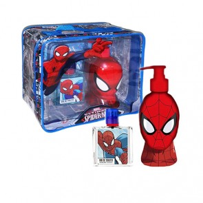 Kids Set Spiderman Vanity Bag 2pc  Edt  1.7 oz Spray