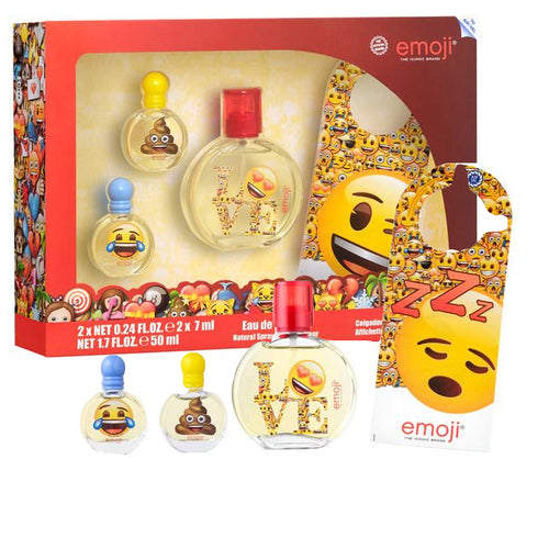 Kids Set Emoji 4pc Edt 1.7 oz Spray