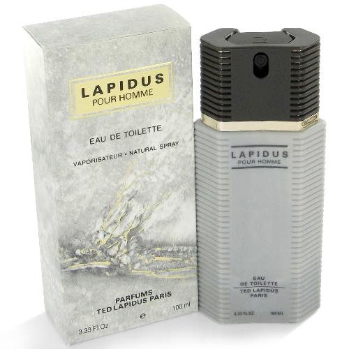 Ted Lapidus Pour Homme Edt 3.4oz Spray