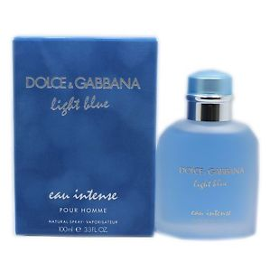 Dolce & Gabbana Light Blue Intense Pour Homme Edp 3.4oz Spray