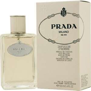 Prada Infusion D' Homme Edt 3.4oz Spray